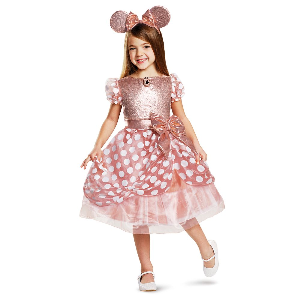 Minnie Mouse Costume for Kids – Rose Gold