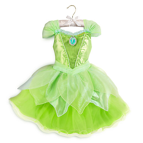 tinker bell light up costume for kids disney store. Black Bedroom Furniture Sets. Home Design Ideas