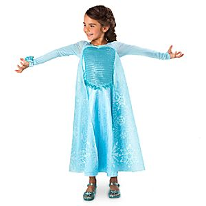 Elsa Deluxe Costume with Light-Up Bracelet
