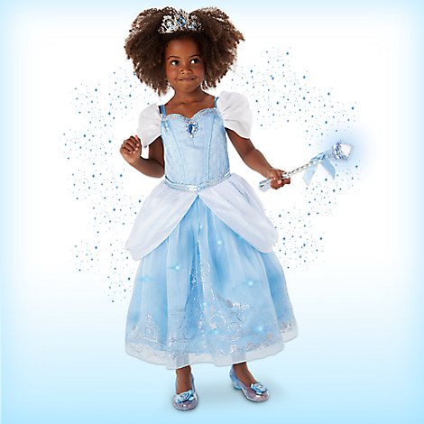 Cinderella Interactive Deluxe Costume Set for Kids