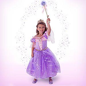 Rapunzel Interactive Deluxe Costume Set for Kids