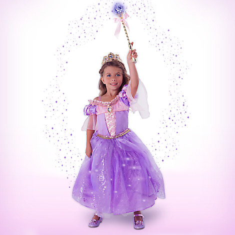 Rapunzel Interactive Deluxe Costume Set for Kids