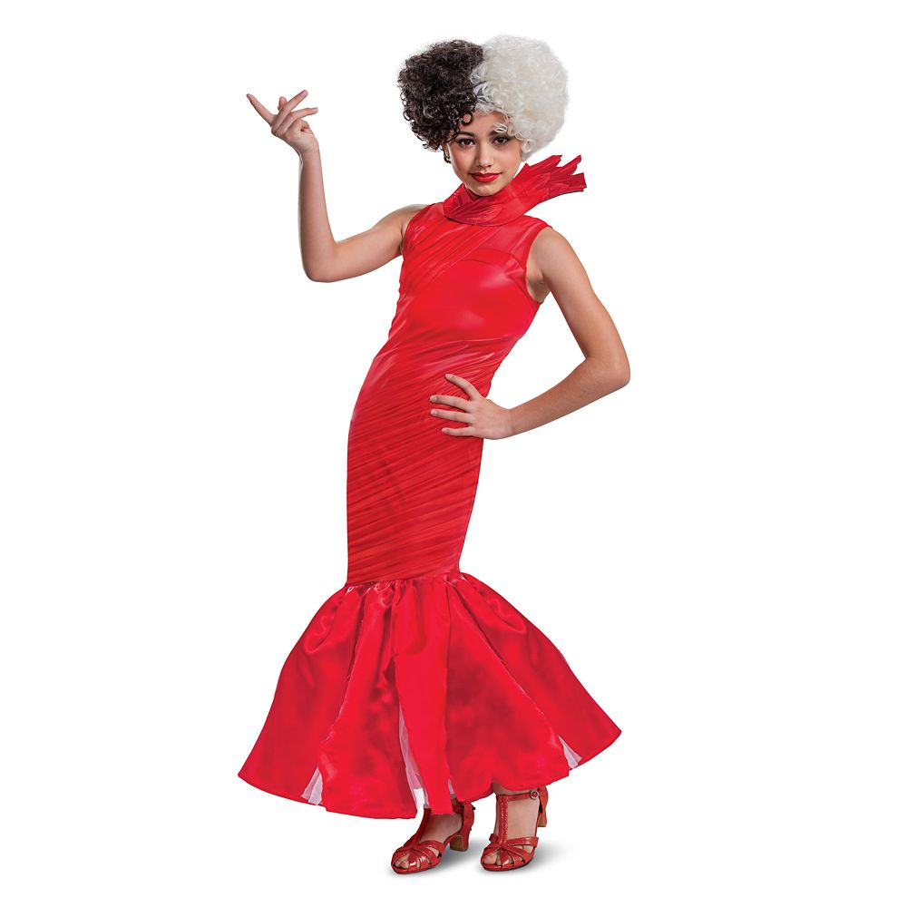 Cruella Red Dress Costume for Tweens by Disguise – Live Action