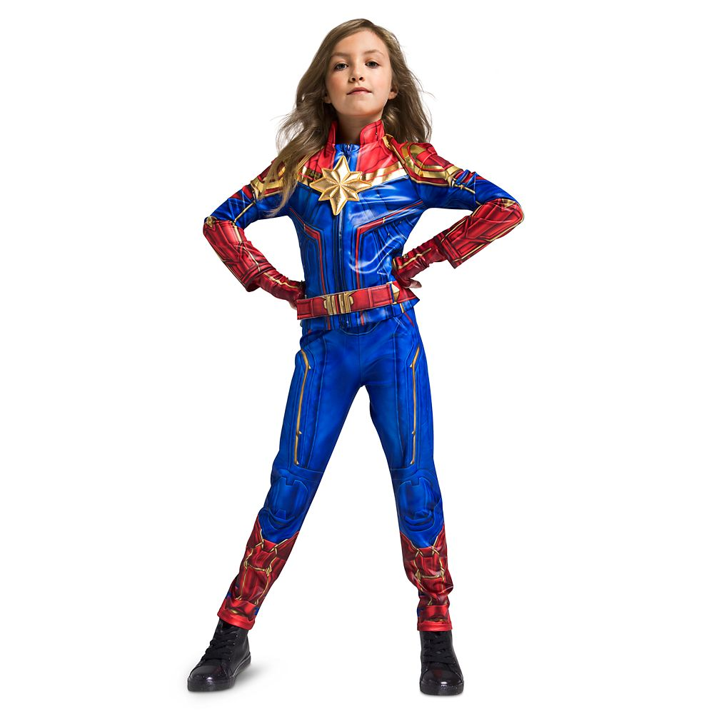 Marvel's Captain Marvel Costume for Kids