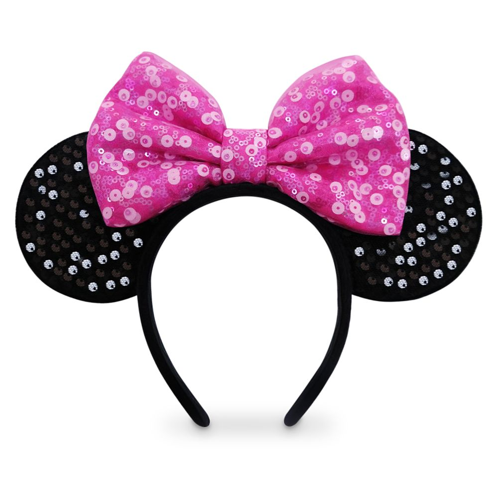 Minnie Mouse Ear Headband for Kids – Pink