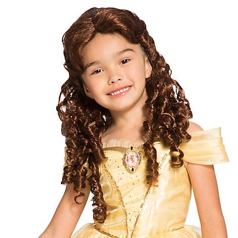 Belle Costume Wig for Kids