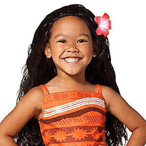 Moana Costume Wig for Kids