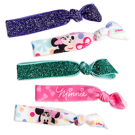Minnie Mouse Hair Tie Set