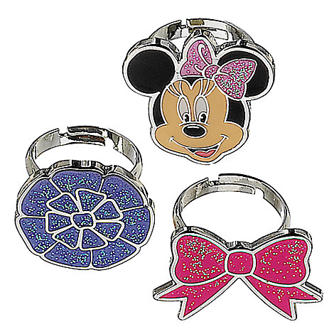 Minnie Mouse Ring Set