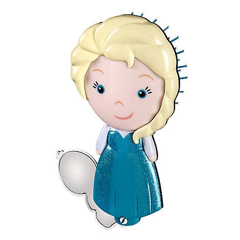 Elsa Brush & Olaf Mirror Set