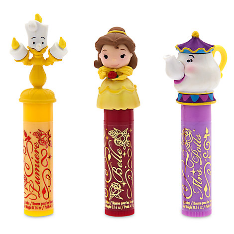 Beauty and the Beast Lip Balm Set
