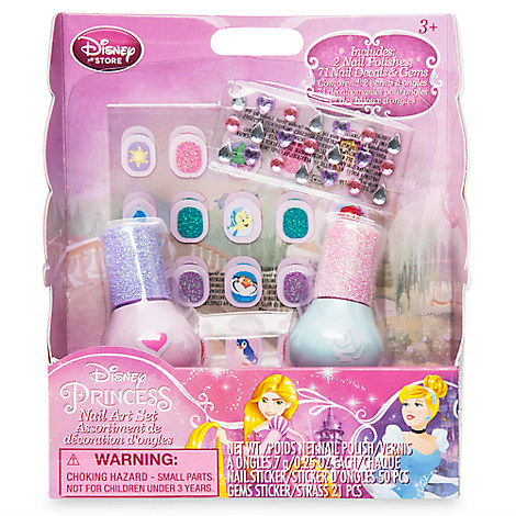 Disney Princess Nail Art Set
