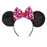 Minnie Mouse Ear Headband for Kids - Pink