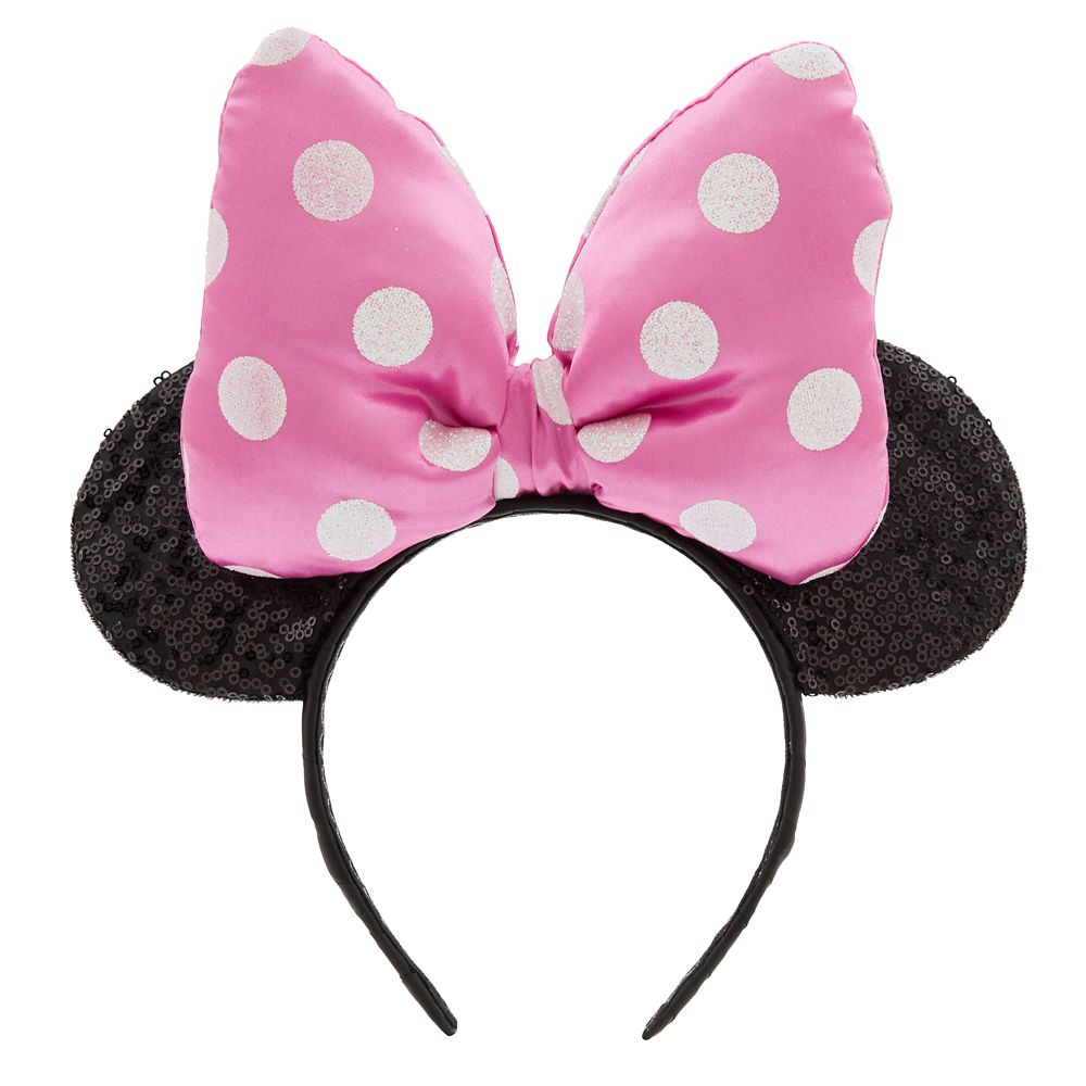 Minnie Mouse Ear Headband for Kids  Pink Official shopDisney