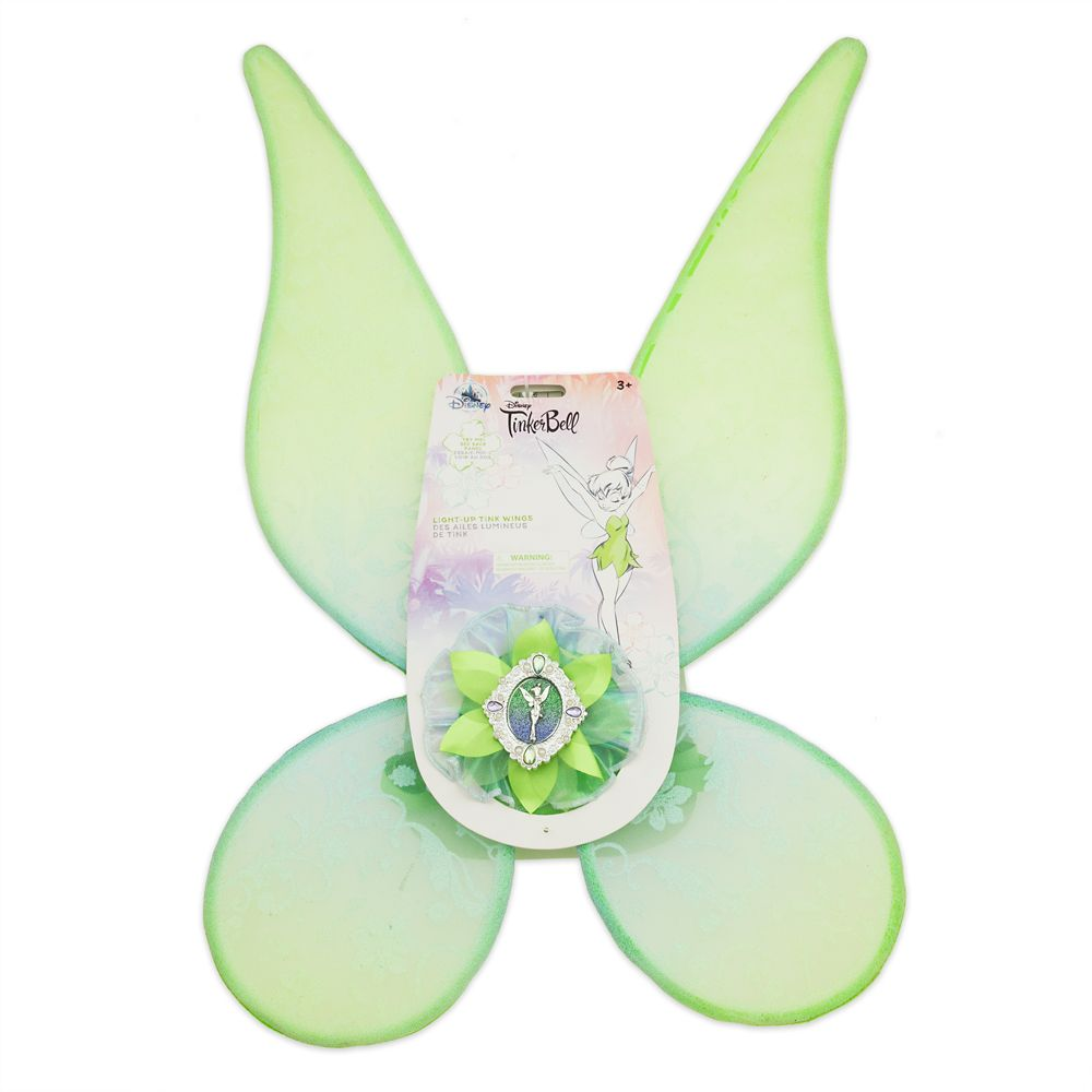 Tinker Bell Light-Up Glow Wings for Kids
