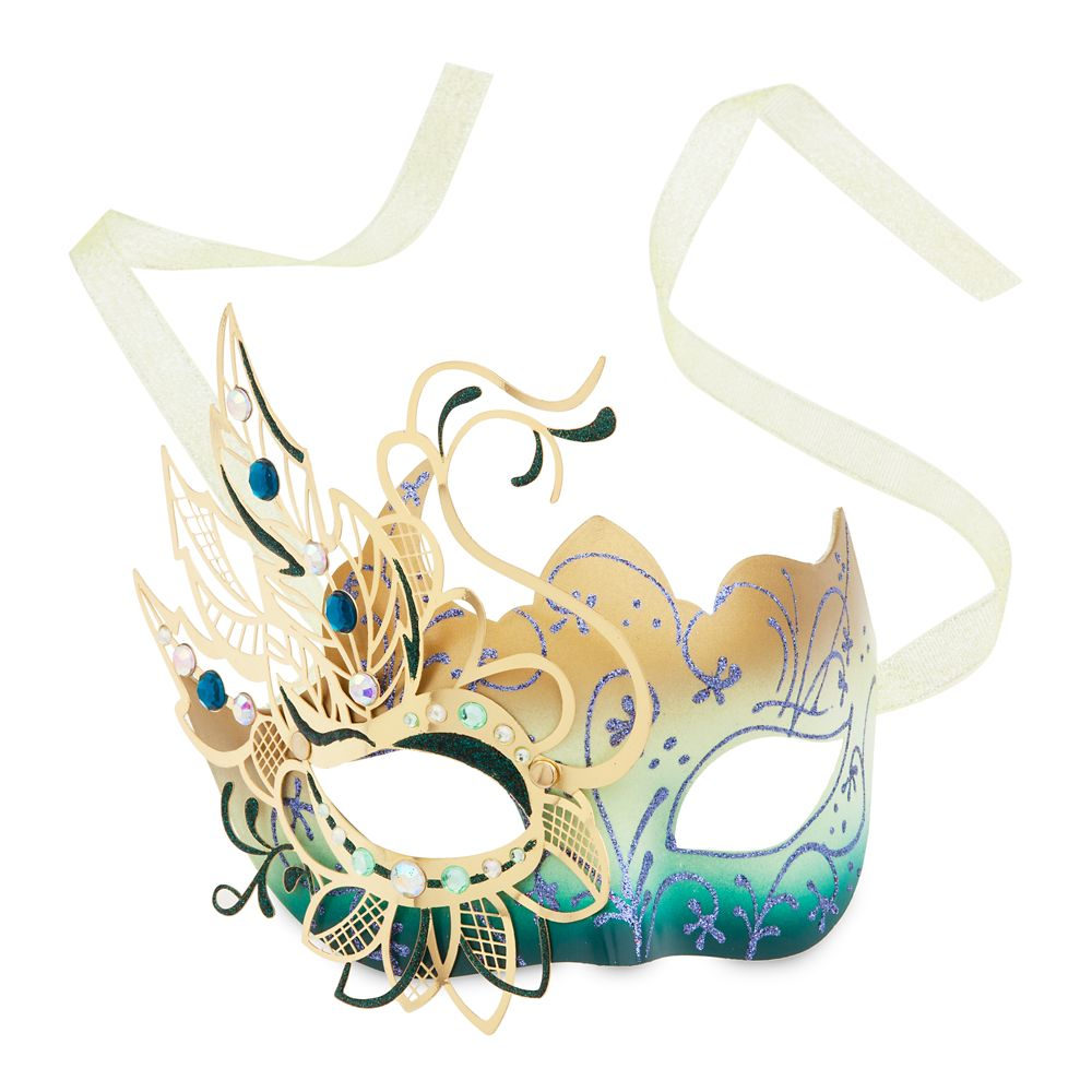 Tiana Midnight Masquerade Mask for Adults