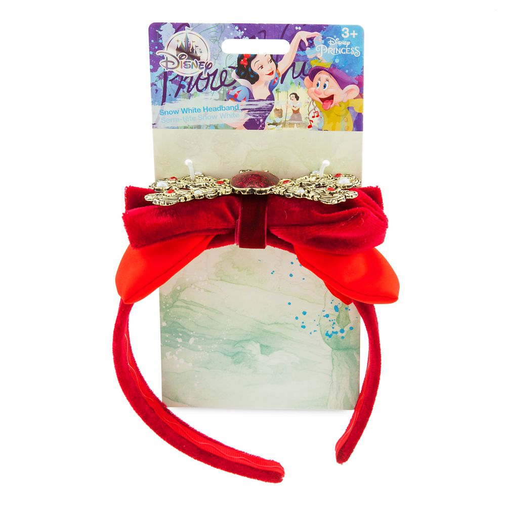 Snow White Headband with Bow for Kids
