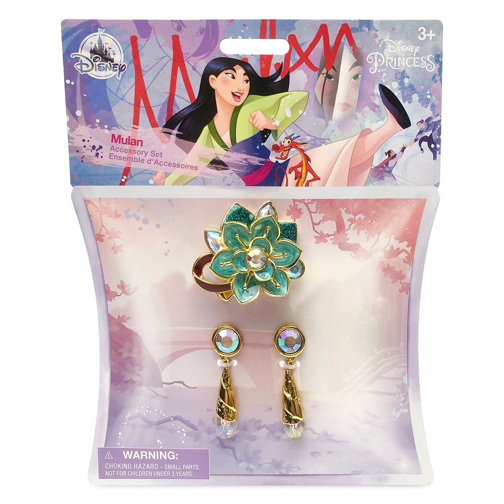Mulan Costume Accessory Set for Kids