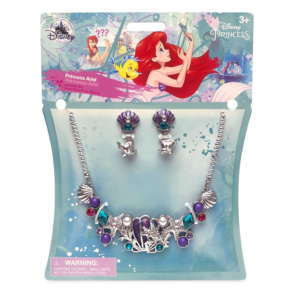 Ariel Costume Jewelry Set for Kids – The Little Mermaid