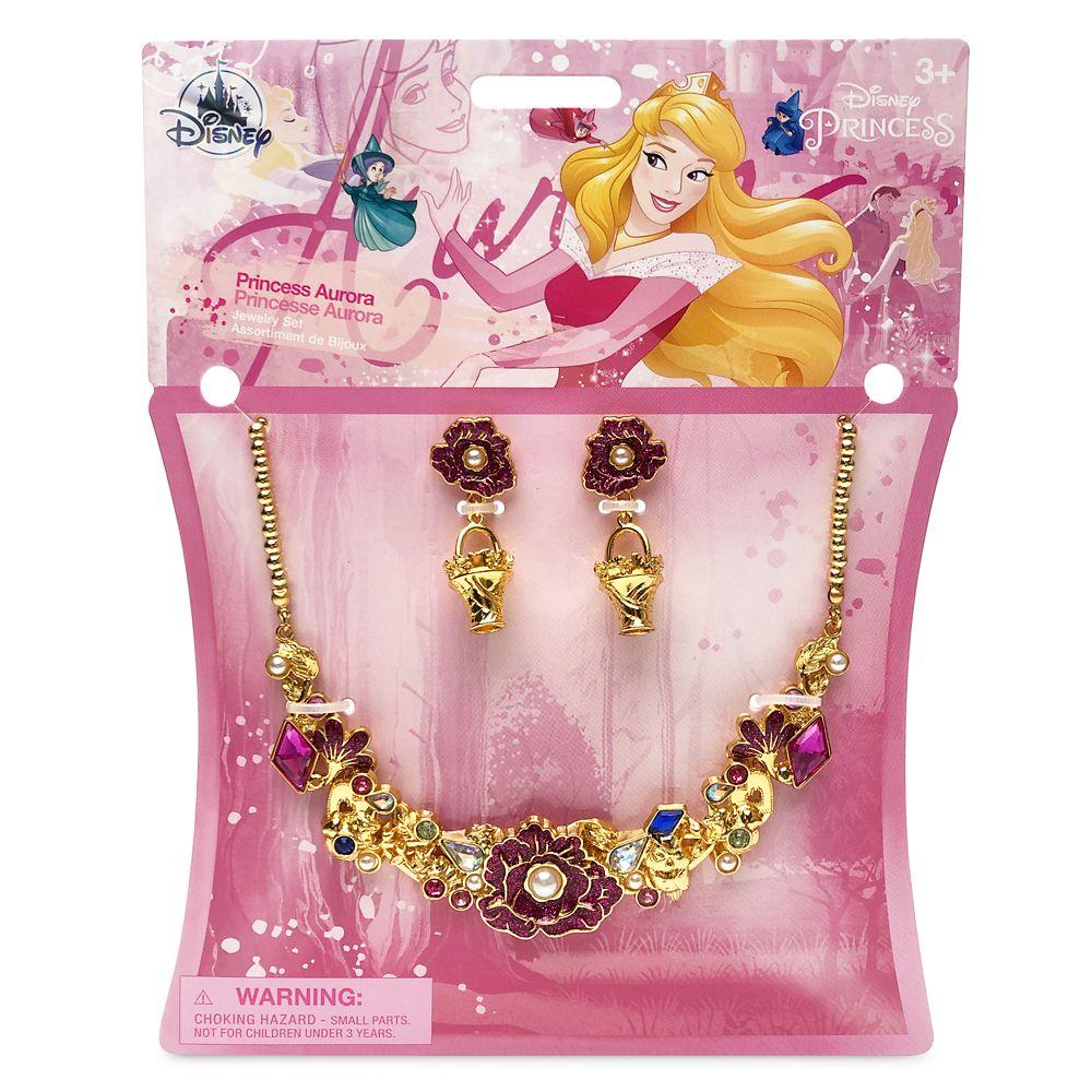 Aurora Costume Jewelry Set for Kids – Sleeping Beauty