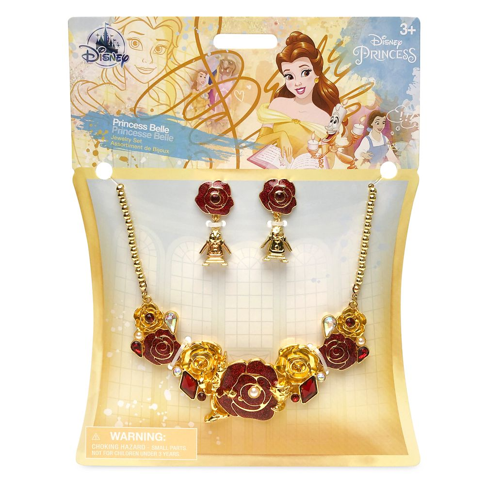 Belle Costume Jewelry Set for Kids – Beauty and the Beast