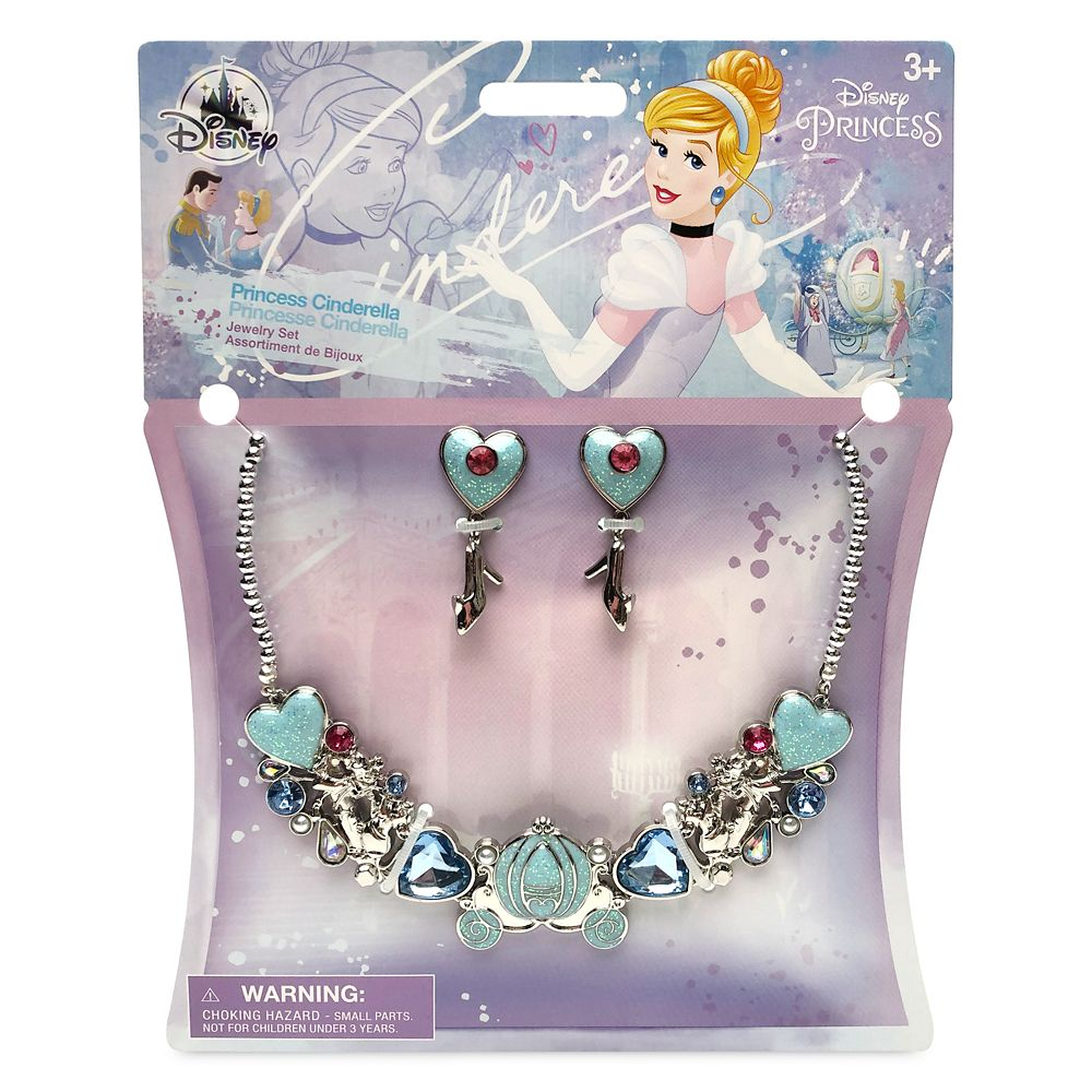Cinderella Costume Jewelry Set for Kids