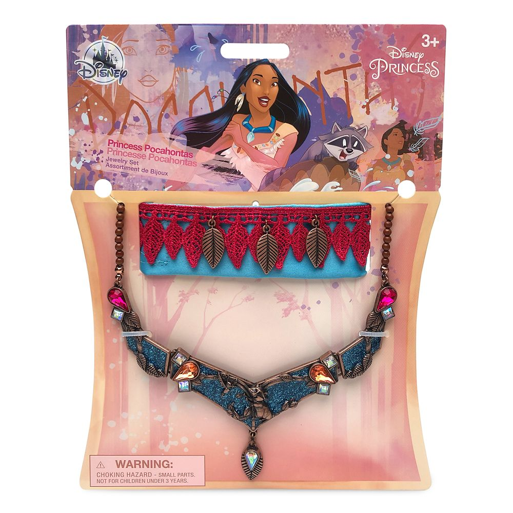 Pocahontas Costume Jewelry Set for Kids