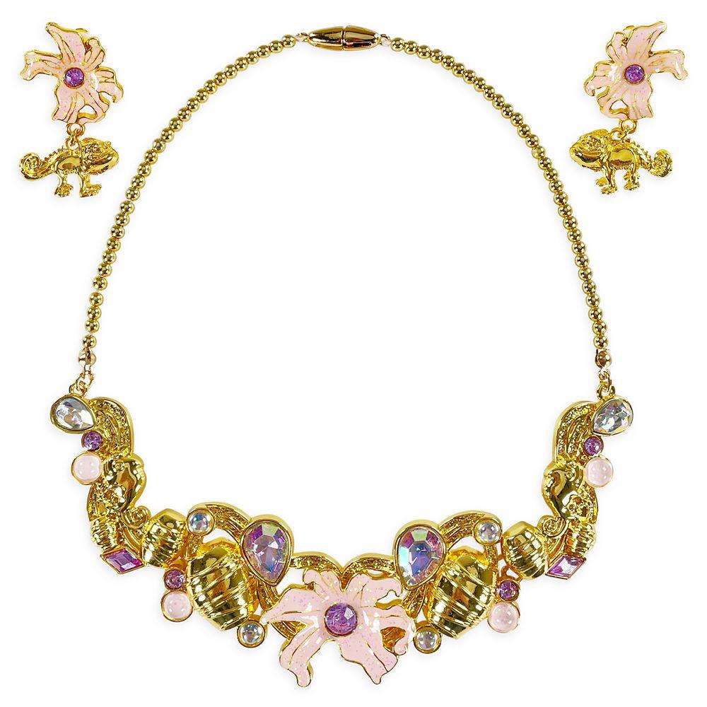 Rapunzel Costume Jewelry Set for Kids – Tangled