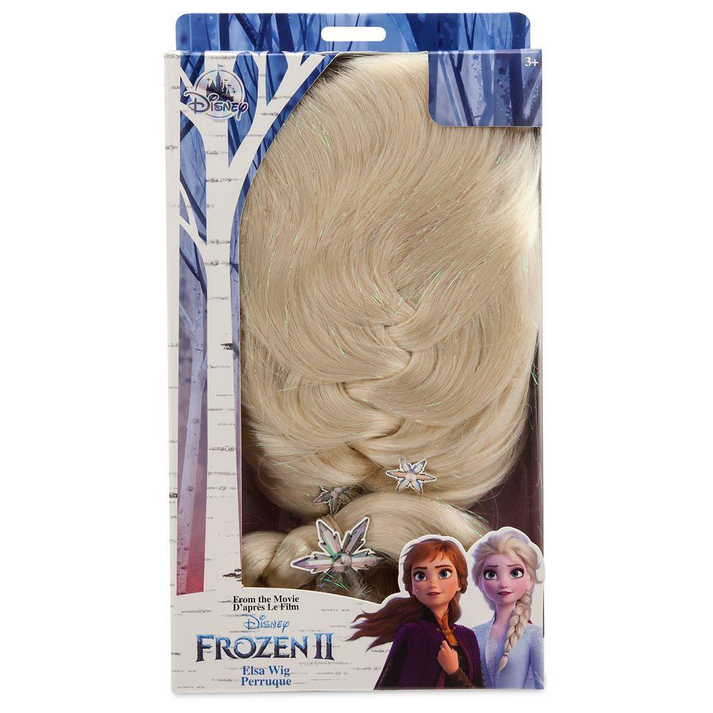 Elsa Costume Wig for Kids – Frozen 2