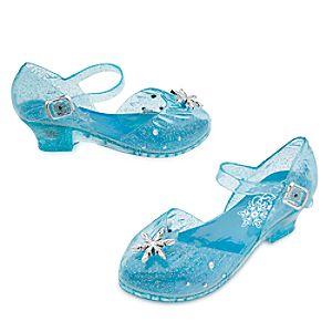 Elsa Light-Up Costume Shoes for Kids