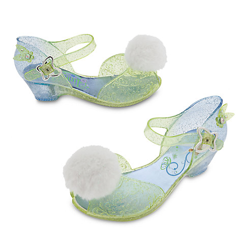 Tinker Bell Light-Up Costume Shoes for Kids