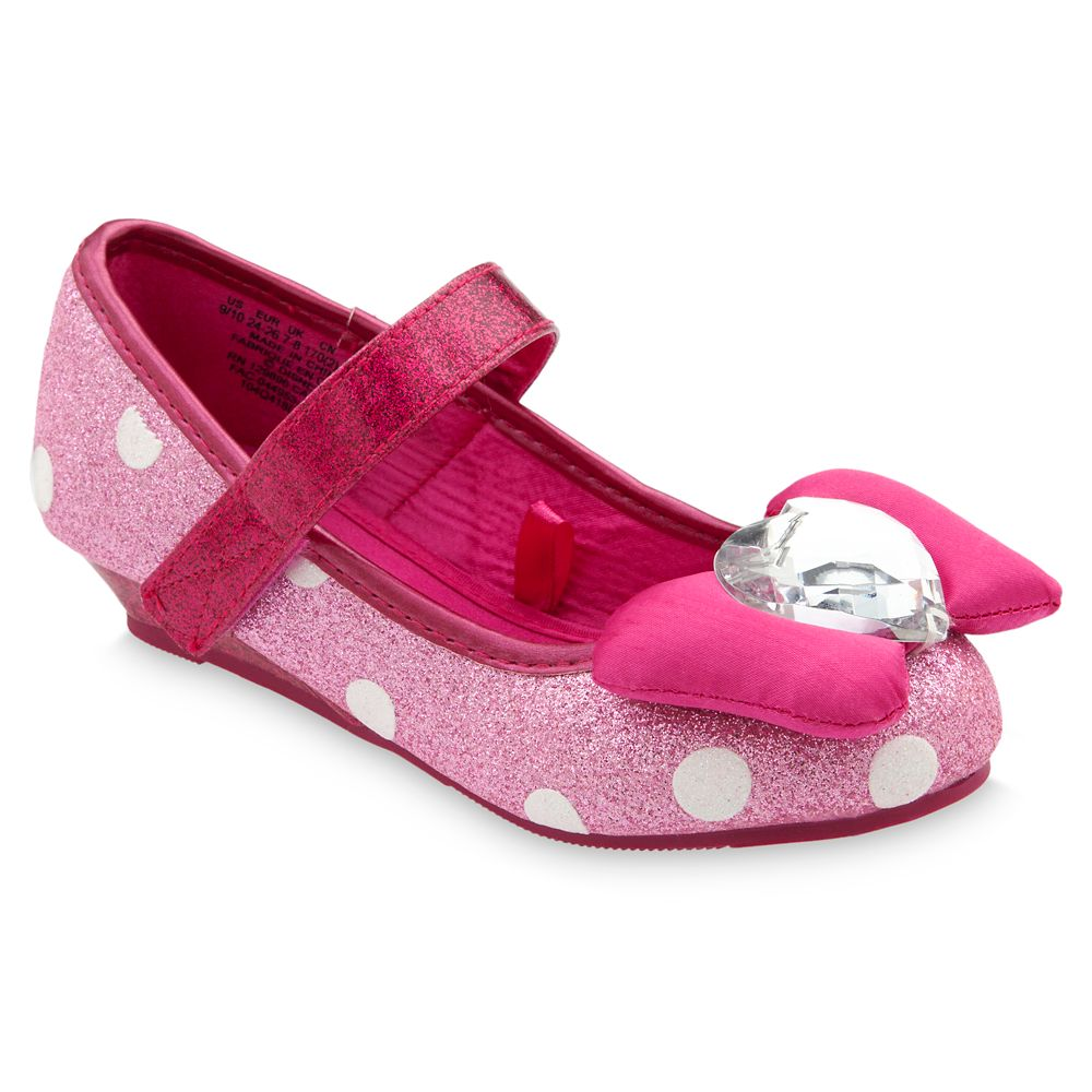 Minnie Mouse Costume Shoes for Kids – Pink