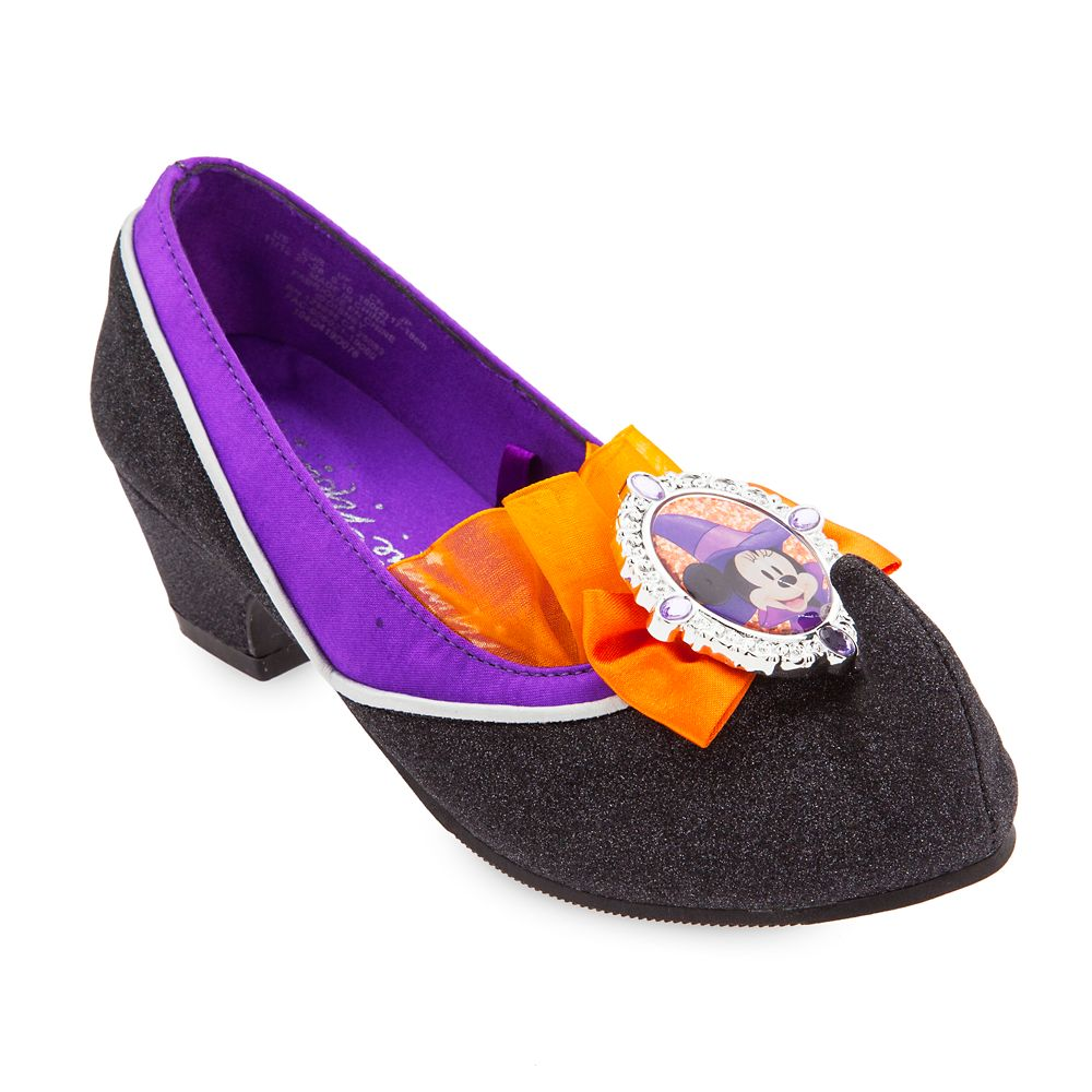 Minnie Mouse Witch Costume Shoes for Kids