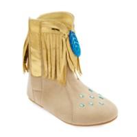 Deals on Disney Pocahontas Costume Shoes for Kids