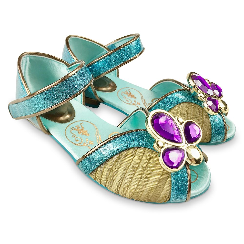 Jasmine Costume Shoes for Kids – Aladdin