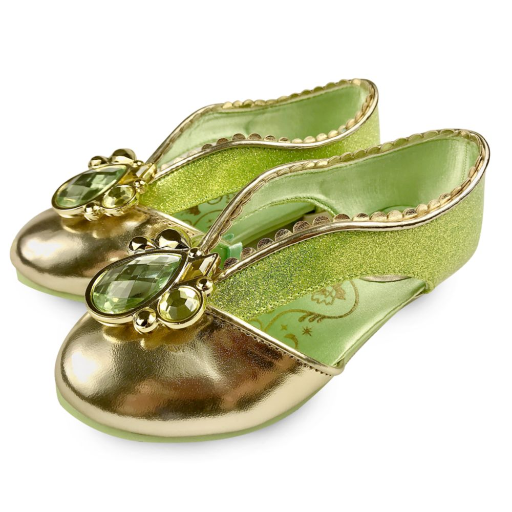 Tiana Costume Shoes for Kids – The Princess and the Frog
