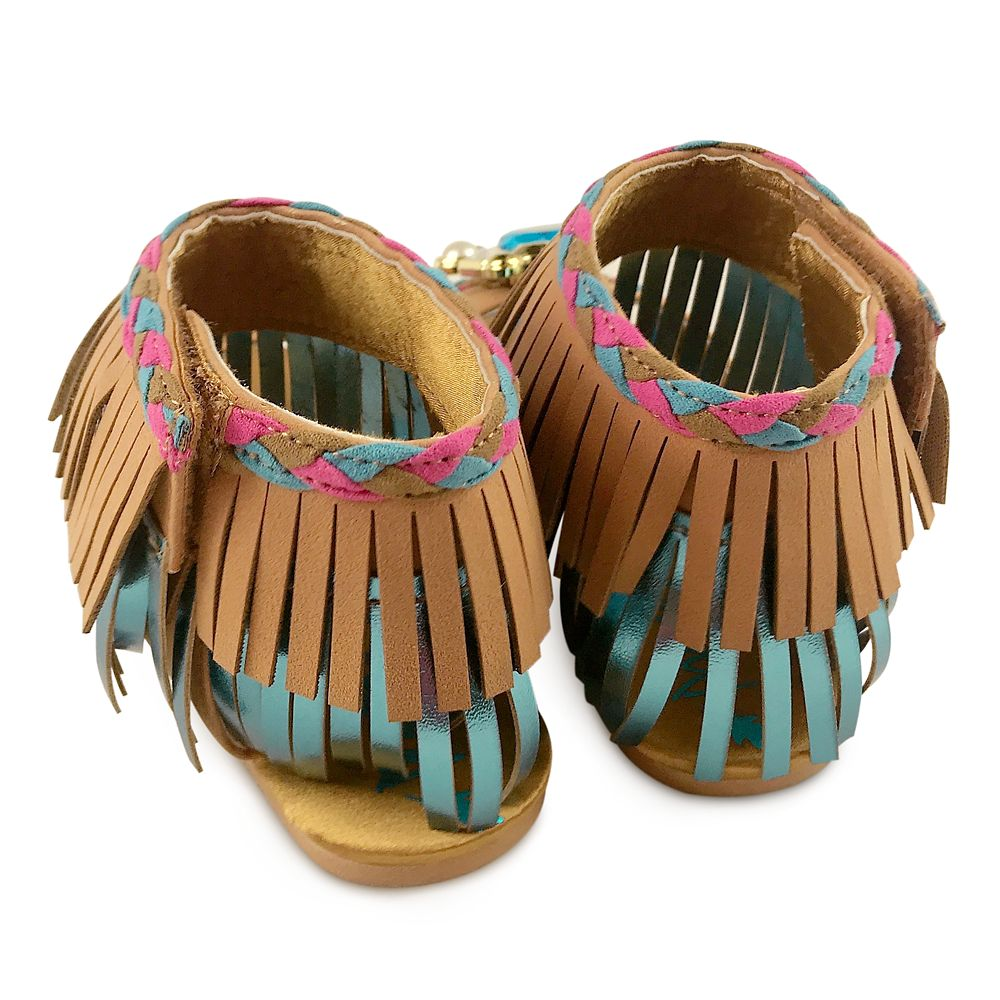 Pocahontas Costume Sandals for Kids