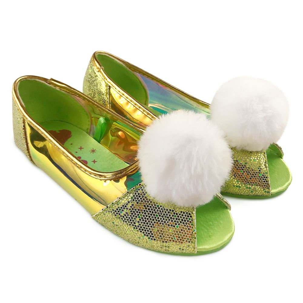 Tinker Bell Costume Shoes for Kids – Peter Pan