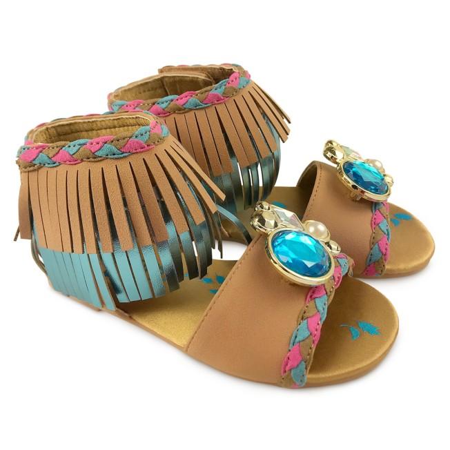 Pocahontas Costume Sandals for Kids