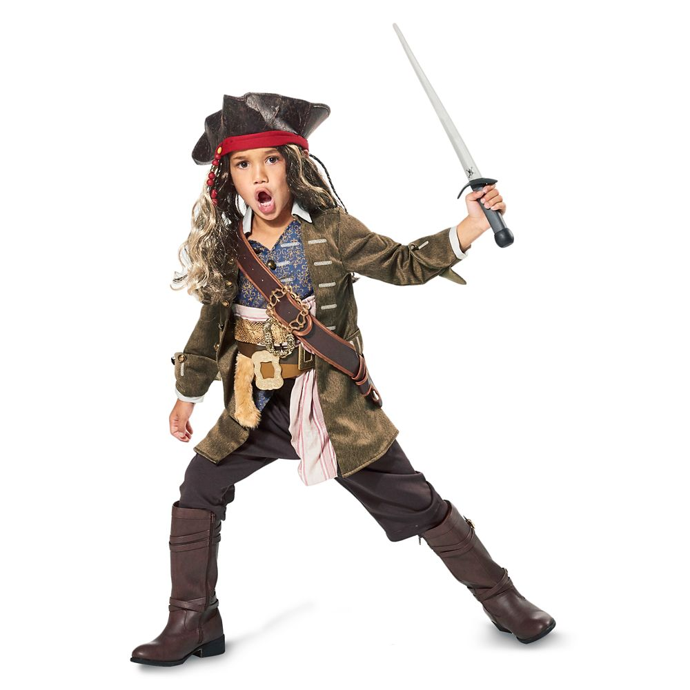 Captain Jack Sparrow Costume For Kids