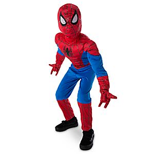 Ultimate Spider-Man Light-Up Costume for Kids 2844041217800MS