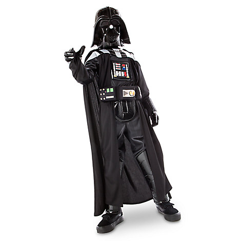 darth vader costume with sound for kids disney store. Black Bedroom Furniture Sets. Home Design Ideas