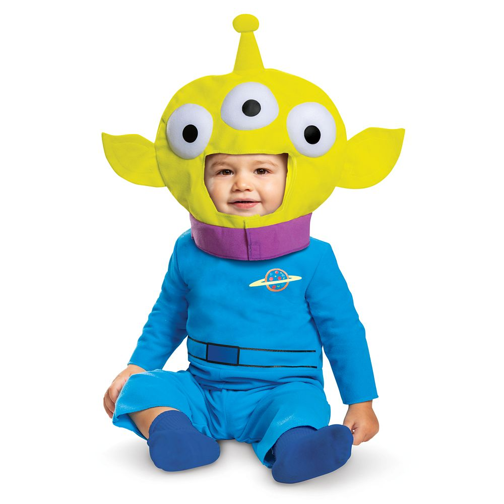 Toy Story Alien Costume for Baby by Disguise