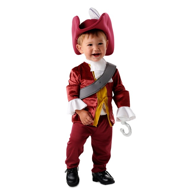 Captain Hook Costume for Baby by Disguise – Peter Pan