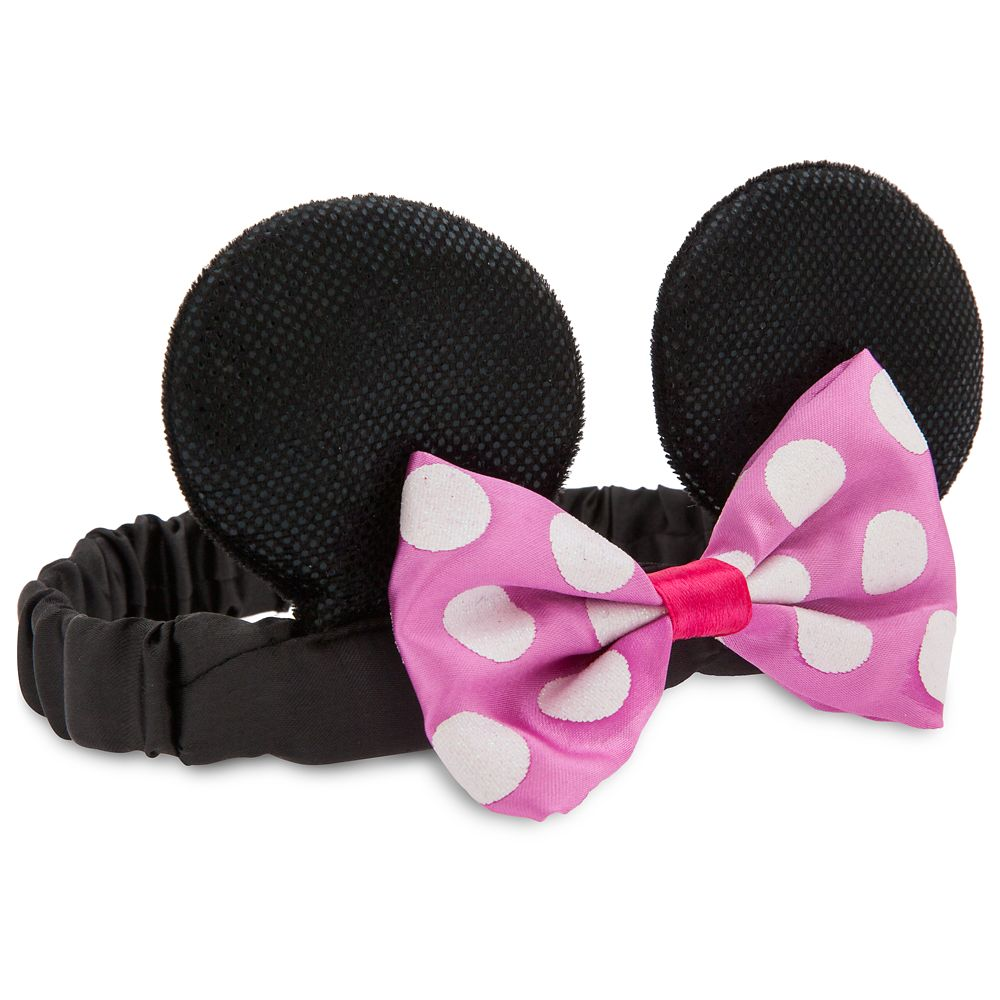 Minnie Mouse Ear Headband for Baby – Pink