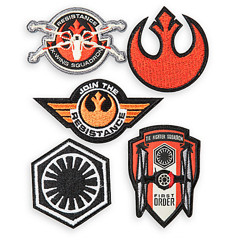 Star Wars: The Force Awakens Embroidered Badges Set