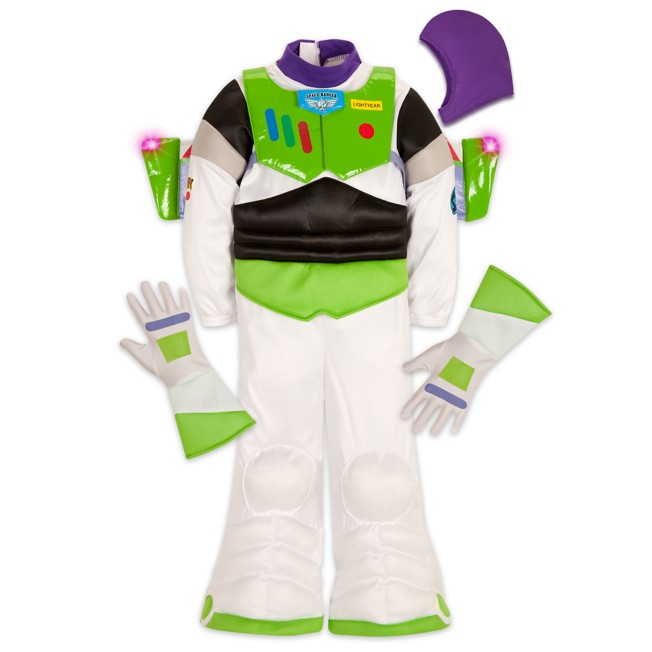 Buzz Lightyear Light-Up Costume for Kids –Toy Story
