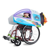 Buzz Lightyear Spaceship Wheelchair Cover Set by Disguise – Toy Story