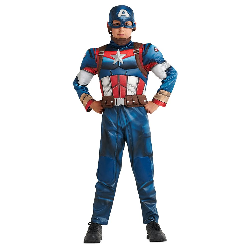 디즈니 '캡틴 아메리카' 코스튬 Disney Captain America Costume for Kids