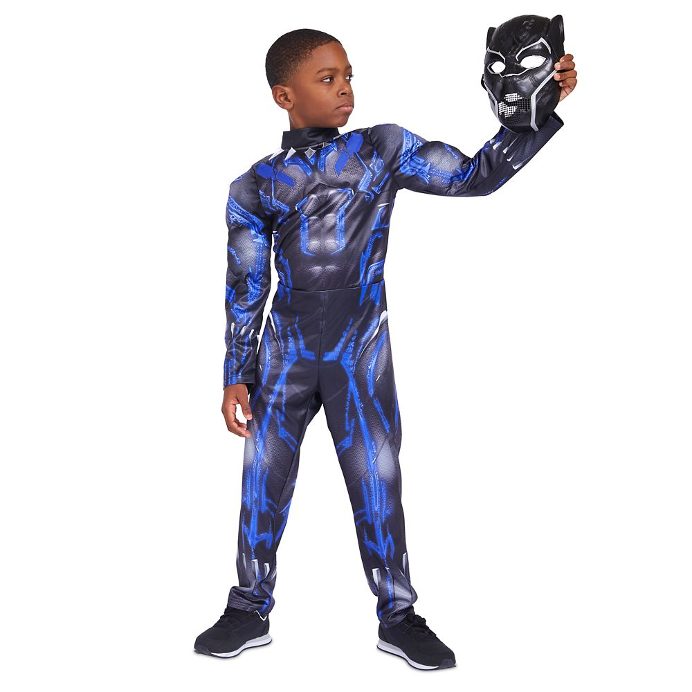 디즈니 '블랙 팬서' 라이트업 코스튬 Disney Black Panther Light-Up Costume for Kids